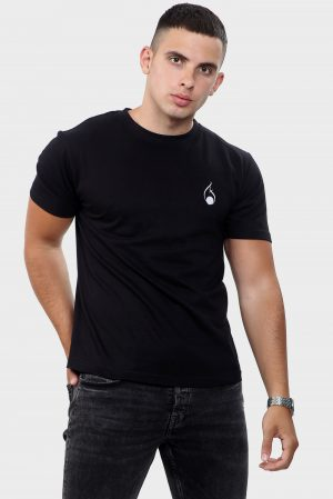 mens black t shirt
